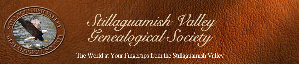 Stillagaumish Valley Genealogical Society